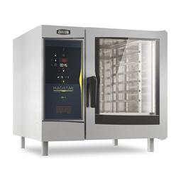 Magistar Combi DS<br>Forno digitale con boiler, gas 6 GN 1/1