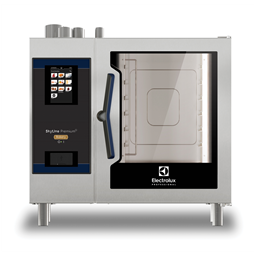 SkyLine PremiumSForno Bakery touch con boiler, gas 5 teglie 400x600mm