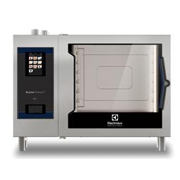 SkyLine PremiumSElectric Combi Oven 6GN2/1, left hinged door, Green Version