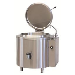 Cucine ad alta produttività<br>Pentola a vapore 150 litri con vasca da 600x420 mm