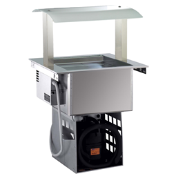 Drop-InRefrigerated Ventilated Well 2GN 1/1 with Gantry