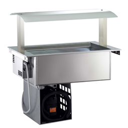 Drop-InRefrigerated Ventilated Well 3GN 1/1 with Gantry