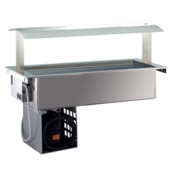 Drop-InRefrigerated Ventilated Well 4GN 1/1 with Gantry