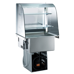 Drop-InRefrigerated Well with Open Display 2GN 1/1