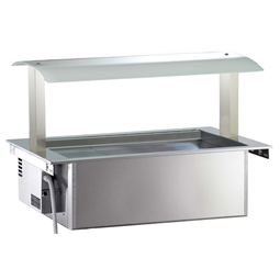 Drop-InRefrigerated Ventilated Well 3GN 1/1 with Gantry - remote