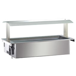 Drop-InRefrigerated Ventilated Well 4GN 1/1 with Gantry - remote