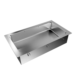 Drop-InDrop-in bain-marie, with one well (3 GN container capacity)