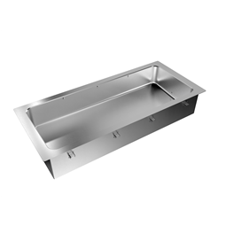 Drop-InDrop-in bain-marie, with one well (4 GN container capacity)