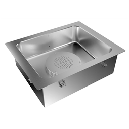 Drop-InDrop-in bain-marie, air ventilated, with one well (2 GN container capacity)