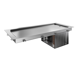Drop-InDrop-in refrigerated stainless steel surface (4 GN container capacity)