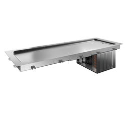 Drop-InDrop-in refrigerated stainless steel surface (5 GN container capacity)
