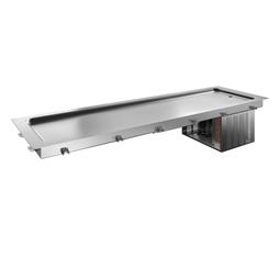 Drop-InDrop-in refrigerated stainless steel surface (6 GN container capacity)