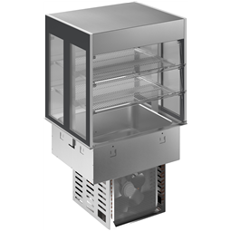 Drop-InDrop-in refrigerated well with refrigerated display, compact - 2GN