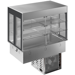 Drop-InDrop-in refrigerated well with refrigerated display, compact - 3GN
