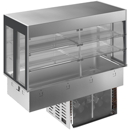 Drop-InDrop-in refrigerated well with refrigerated display, compact - 4GN