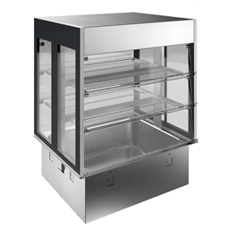 Drop-InDrop-in remote refrigerated well with refrigerated display, compact (2 GN container capacity)