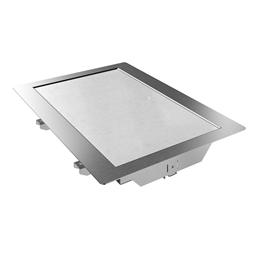 Drop-in<br>Piano refrigerato al quarzo da incasso per 1 bacinella GN, predisposto per gruppo remoto