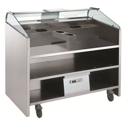Libero Line SeriesLibero Point, 3 HP unit freestanding counter