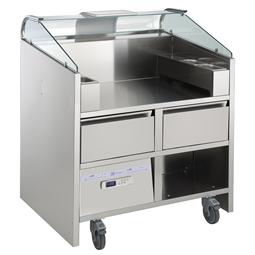 Libero LineМобильный прилавок Libero Point с 2 холодильными ящиками, на 2 аппарата Libero НР