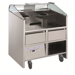 Libero Line SeriesLibero Point, 2 HP unit freestanding refrigerated counter