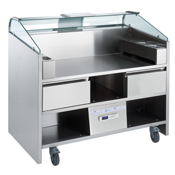 Libero Line SeriesLibero Point, 3 unit freestanding refrigerated counter