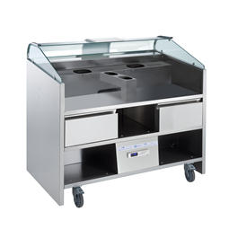 Libero Line SeriesLibero Point, 3 HP unit freestanding refrigerated counter