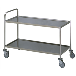 Meal Distribution System2 Tier Service trolley with 1 handle 900x800mm