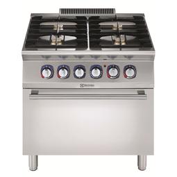 Modular Cooking<br>Gasspis 4 Brännare + Elugn, 800 MM