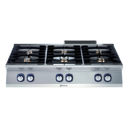 Modular Cooking Range Line700XP 6-Burner Gas Boiling Top