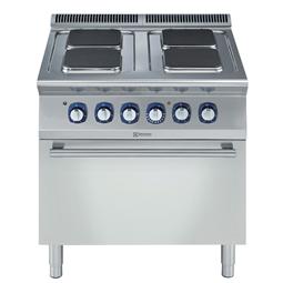Modular Cooking<br>700XP 4-Plattor Elspis. Golvmodell. 800mm