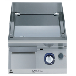 Modular Cooking Range Line700XP 400mm Gas Fry Top, Smooth Polished Chrome Plate