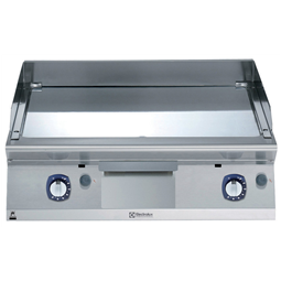 Modular Cooking Range Line700XP 800mm Gas Fry Top, Smooth Polished Chrome Plate