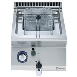Modulaire bereidingsapparatuur700XP Friteuse 1x 7 lt, gas 7 kW, externe branders, topmodel