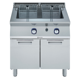 Modular Cooking Range Line700XP One Well Freestanding Gas Tube Fryer 34 liter