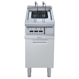 Modular Cooking Range Line<br>700XP Fritös. El. Golvmodell. 400mm. 15L.
