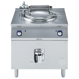 Modular Cooking Range Line700XP Freestanding Gas Boiling Pan 60lt indirect heat with auto refill