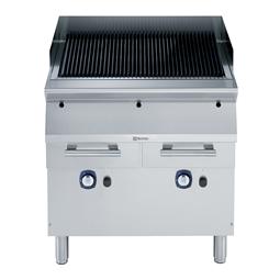 Cuisson modulaire700XP Grillade charcoal, gaz, module entier, onobloc