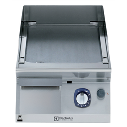 Modular Cooking Range Line700XP 400mm Gas Fry Top, Smooth Brushed Chrome Plate