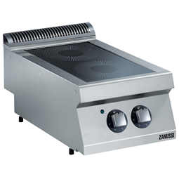 Modular Cooking Range Line<br>EVO700 2-Hot Plate Electric Infrared Cooking Top Range