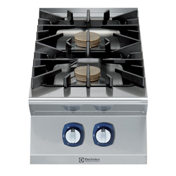 Modular Cooking Range Line900XP 2-Burner Gas Boiling Top with 3mm worktop and electric ignition, 10 kW