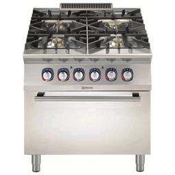 Modular Cooking<br>900XP Spis, Gas, Elugn, 4 Brännare, 800 MM