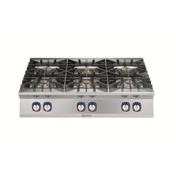 Modular Cooking Range Line900XP 6-Burner Gas Boiling Top