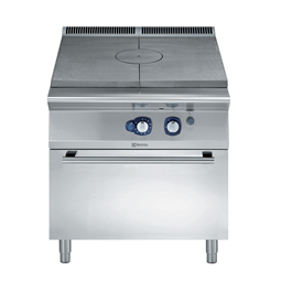 Modular Cooking Range Line900XP Gas Solid Top on Gas Oven