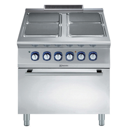 Modular Cooking<br>900XP Spis, El-, Ugn. 4 Plattor. 800 MM.