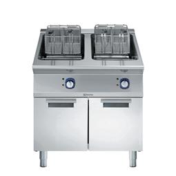 Modular Cooking Range Line<br>900XP Fritös, El, 18+18L, 400MM