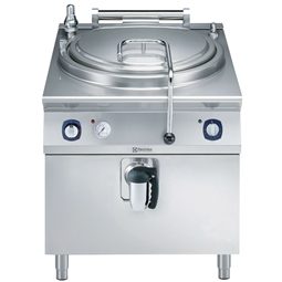 Modular Cooking Range Line900XP Electric Cylindrical Boiling Pan 100lt automatic refill