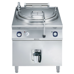 Modular Cooking Range Line900XP Electric Cylindrical Boiling Pan 150lt automatic refill