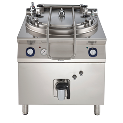 Modular Cooking Range Line900XP Electric Cylindrical Boiling Pan 150lt - autoclave
