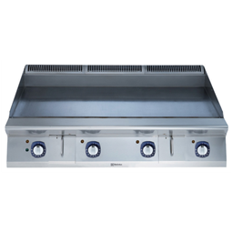 Modular Cooking Range Line900XP 1200mm Electric Fry Top HP, Smooth scratch resistant chromium Plate