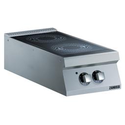 Modular Cooking<br>Glaskeramikhäll. Bänkmodell. 400mm. 2 värmezoner (180 och 300mm diam.).
